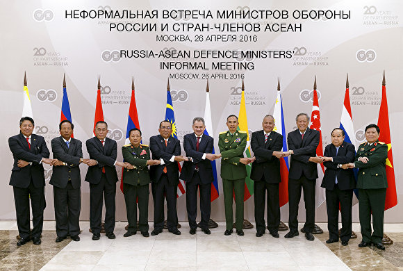Session of Defence Ministers of Russia and ASEAN took place in Moscow