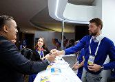 Открытие Международного пресс-центра саммита Россия — АСЕАН в Сочи