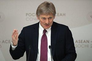 Брифинг пресс-секретаря президента РФ Дмитрия Пескова