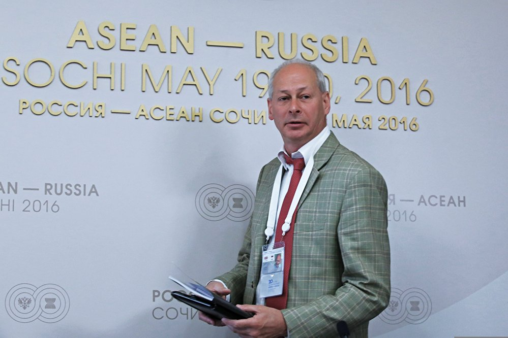 Press briefing with Russian Deputy Minister of Communications and Mass Media Alexei Volin