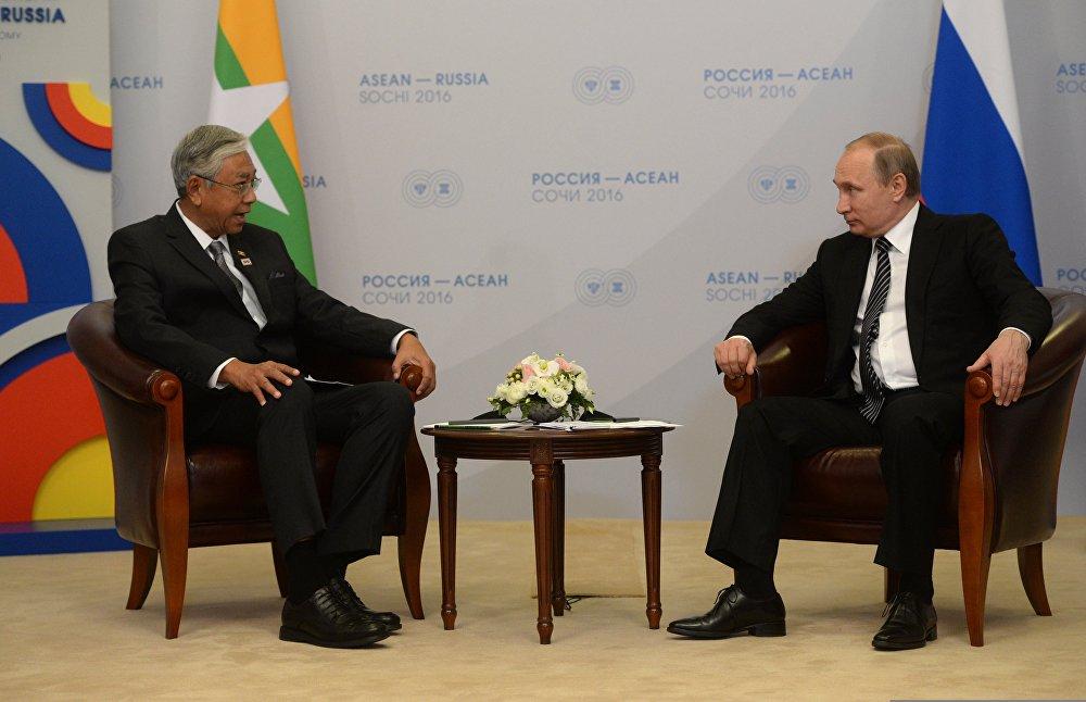 Отношения с россией мьянмы
