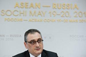 Россия и АСЕАН заинтересованы в создании единой архитектуры безопасности в регионе АТР