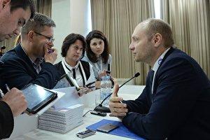 Брифинг министра РФ по развитию Дальнего Востока Александра Галушки