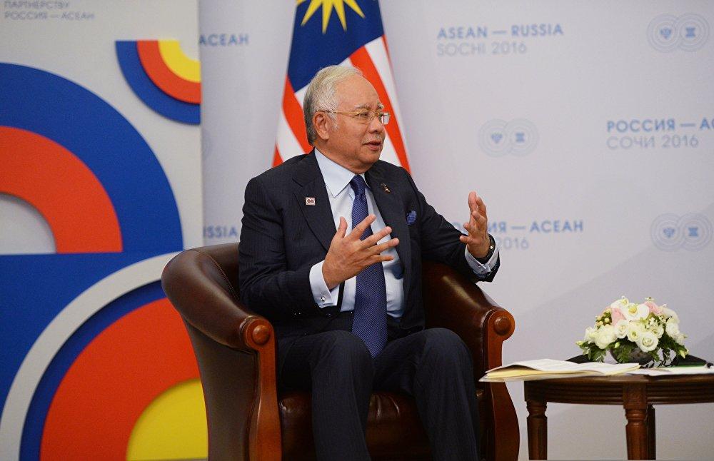 Vladimir Putin's bilateral meeting with Prime Minister of Malaysia Najib Tun Razak
