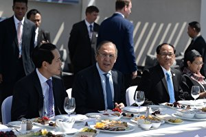 Working breakfast of Russian Foreign Minister Sergei Lavrov and ASEAN ministers