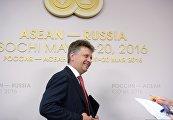 Брифинг министра транспорта РФ Максима Соколова Сотрудничество России со странами АСЕАН в области транспорта