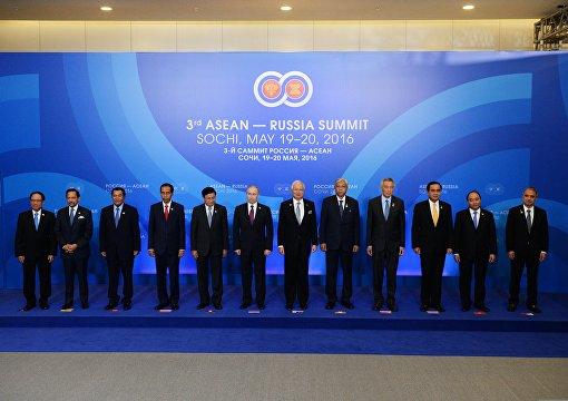 Участники саммита Россия – АСЕАН приняли Сочинскую декларацию