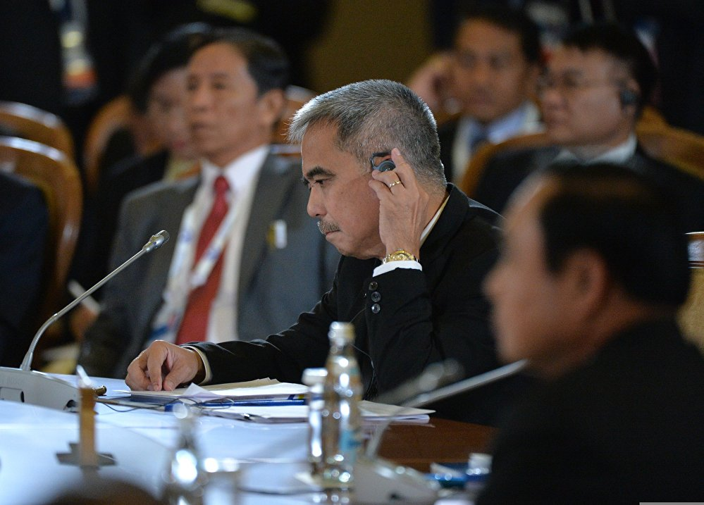Пленарное заседание саммита Россия — АСЕАН