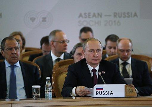 Plenary session of ASEAN-Russia Summit