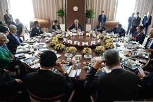Working breakfast of delegation heads - ASEAN-Russia Summit participants