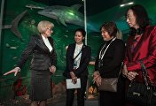 Spouses of foreign delegation heads visit Sochi Local History Museum